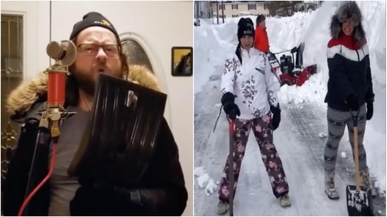 The Snowmageddon 2020 Music Video Is The Best Thing In Canada Right Now