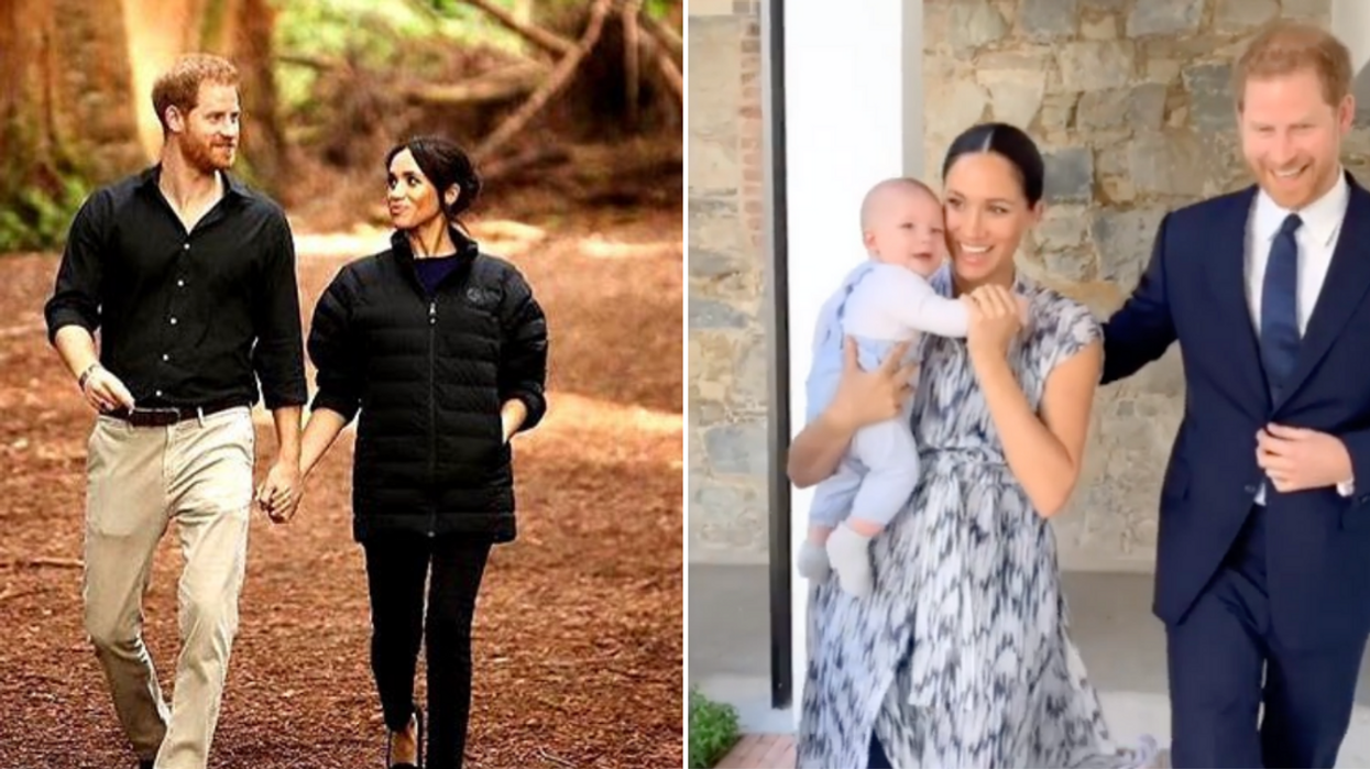Meghan Markle Stepped Out For A Walk With Archie In Vancouver & Her Smile Is Everything