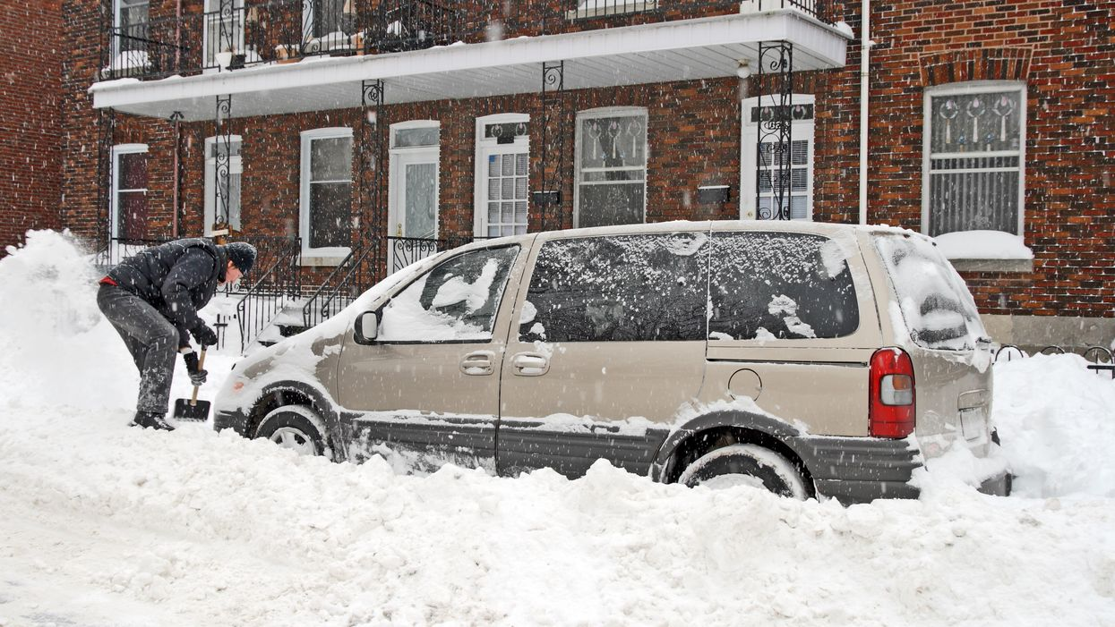 Shovelling Snow Heart Attack Risk Are Real & Health Canada Has Issued Warnings