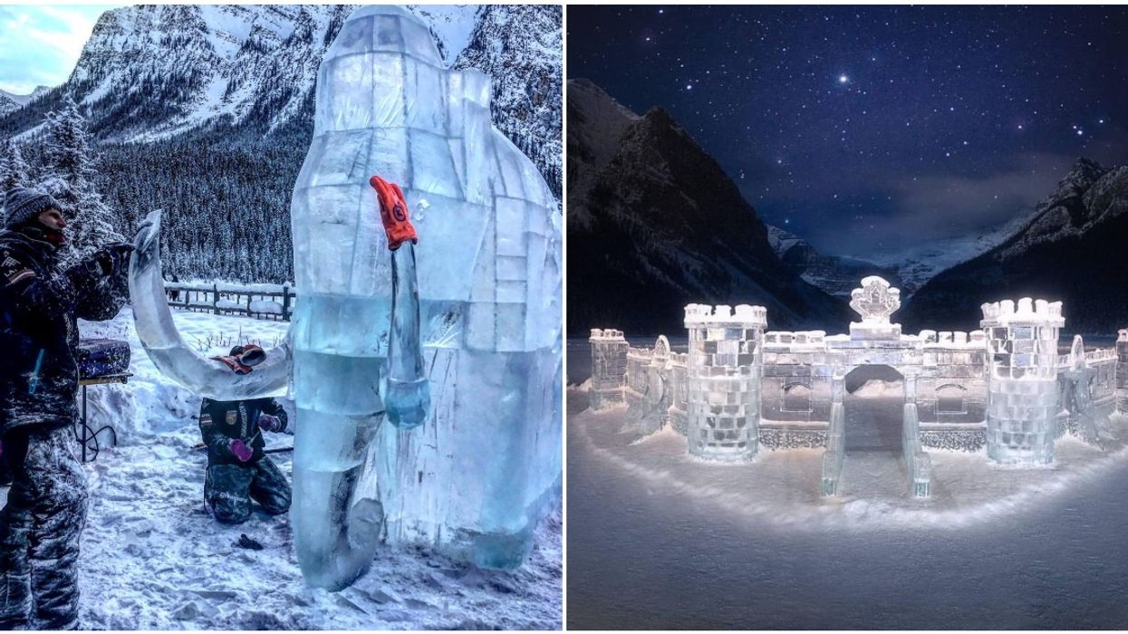 Lake Louise Ice Magical Festival Is Still On This Weekend & It Looks Stunning (PHOTOS)