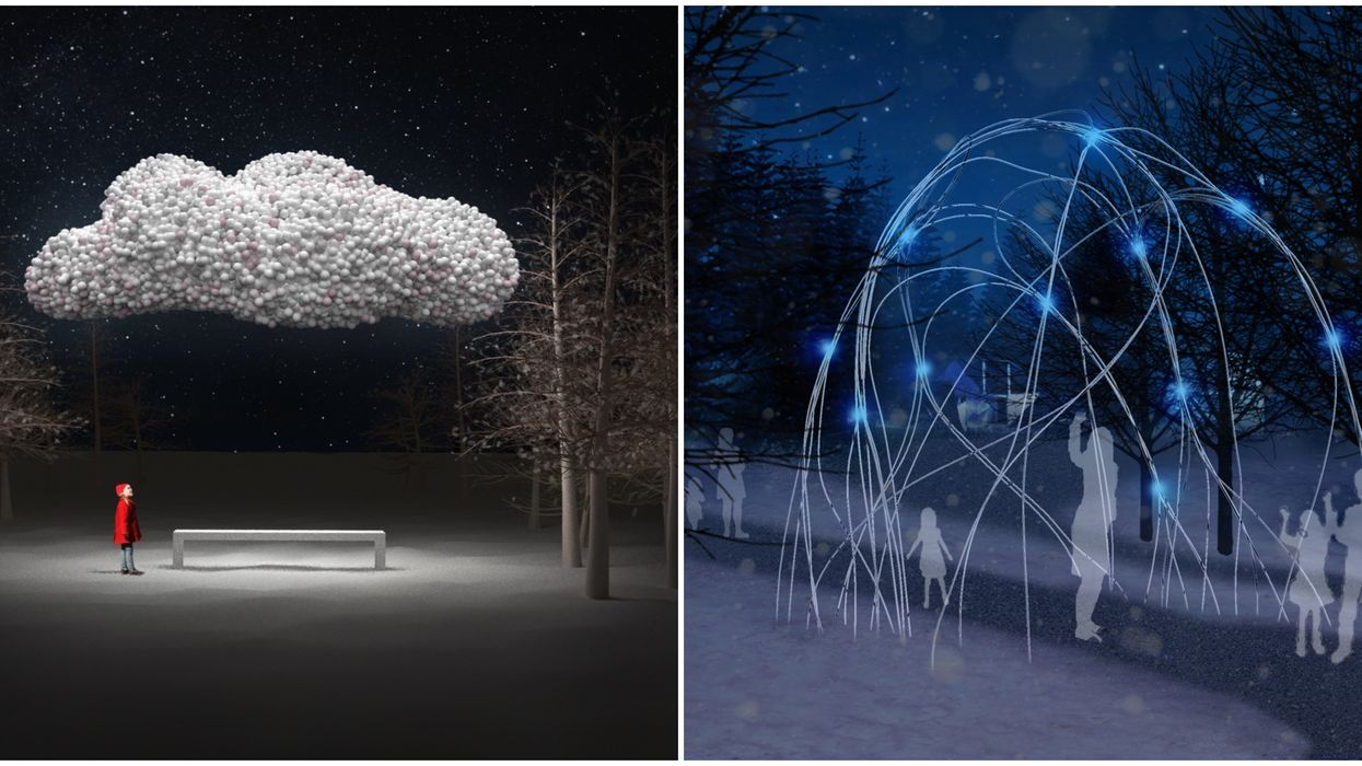 Ontario Place Winter Light Exhibition Is Returning To Toronto Next Month