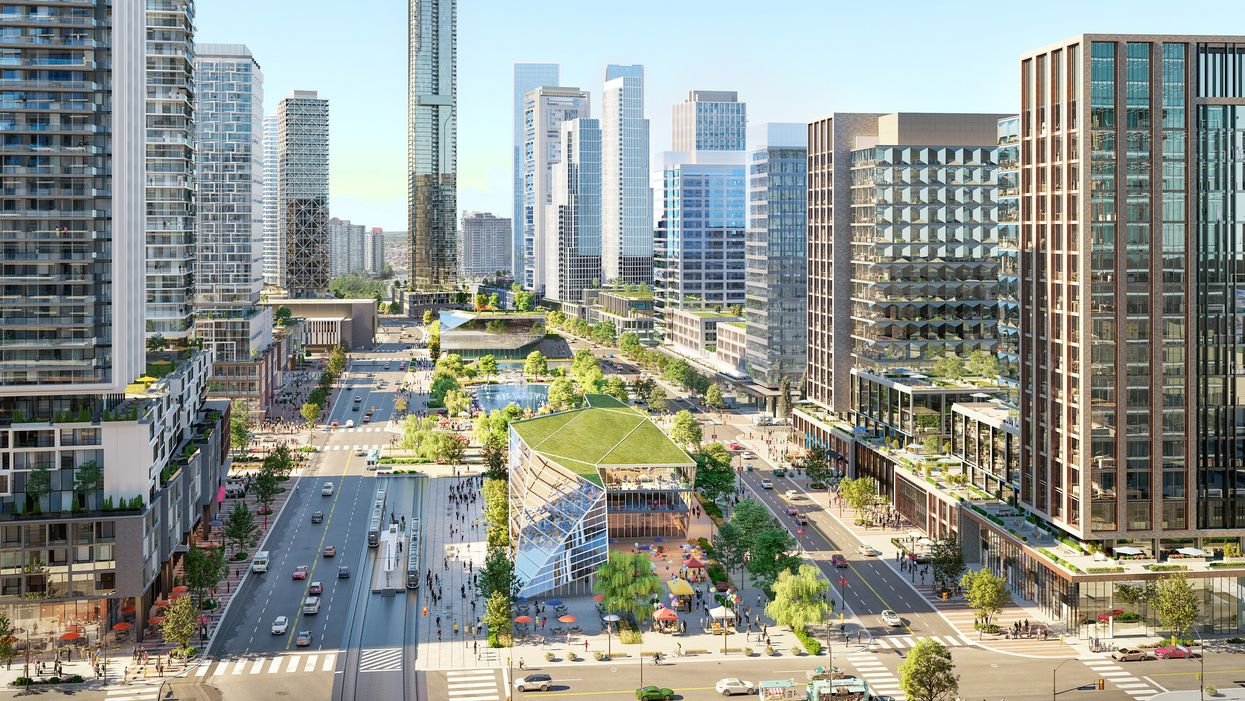 Mississauga's Square One District Development Is Going To Absolutely Transform The City
