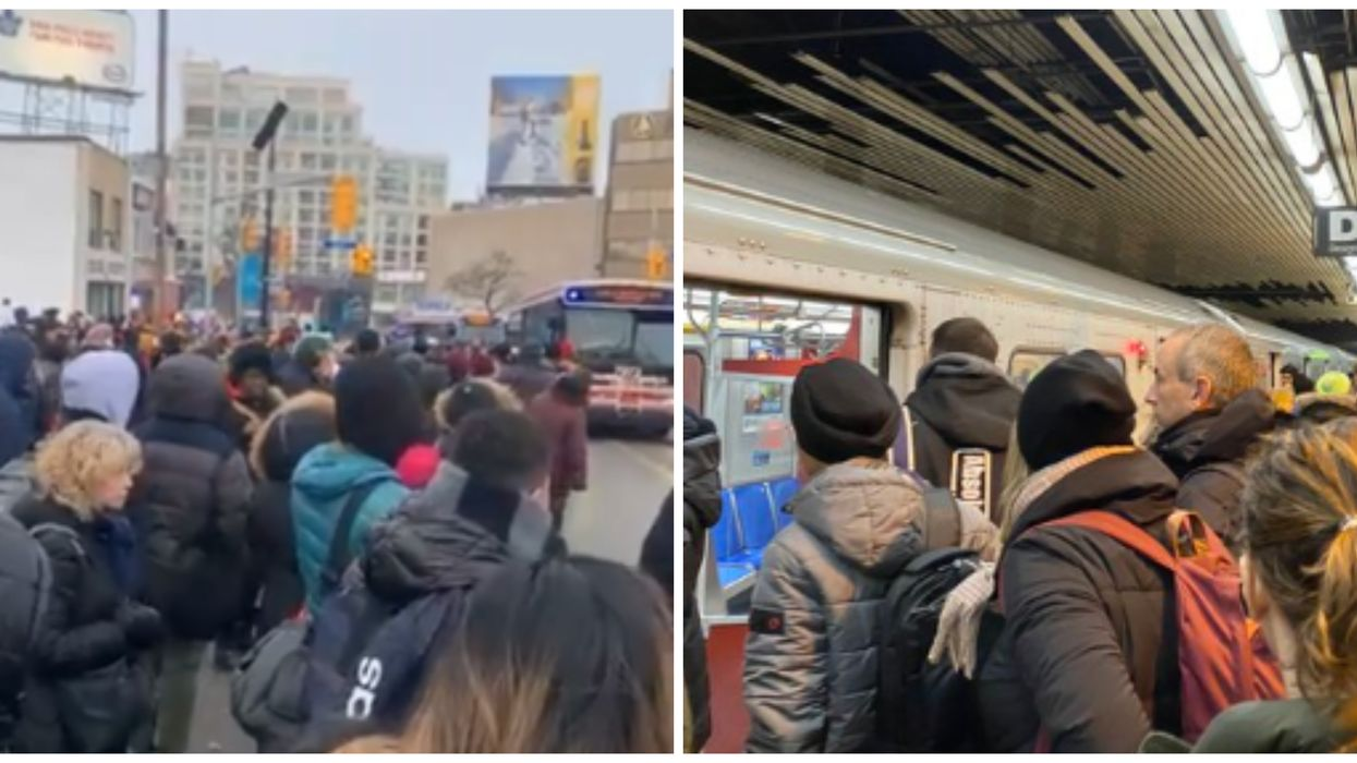 TTC Delay Caused A Total Nightmare This Morning Due To A Derailment