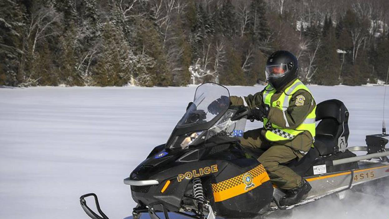 La Sûreté du Québec recherche cinq motoneigistes disparus au Lac-Saint-Jean
