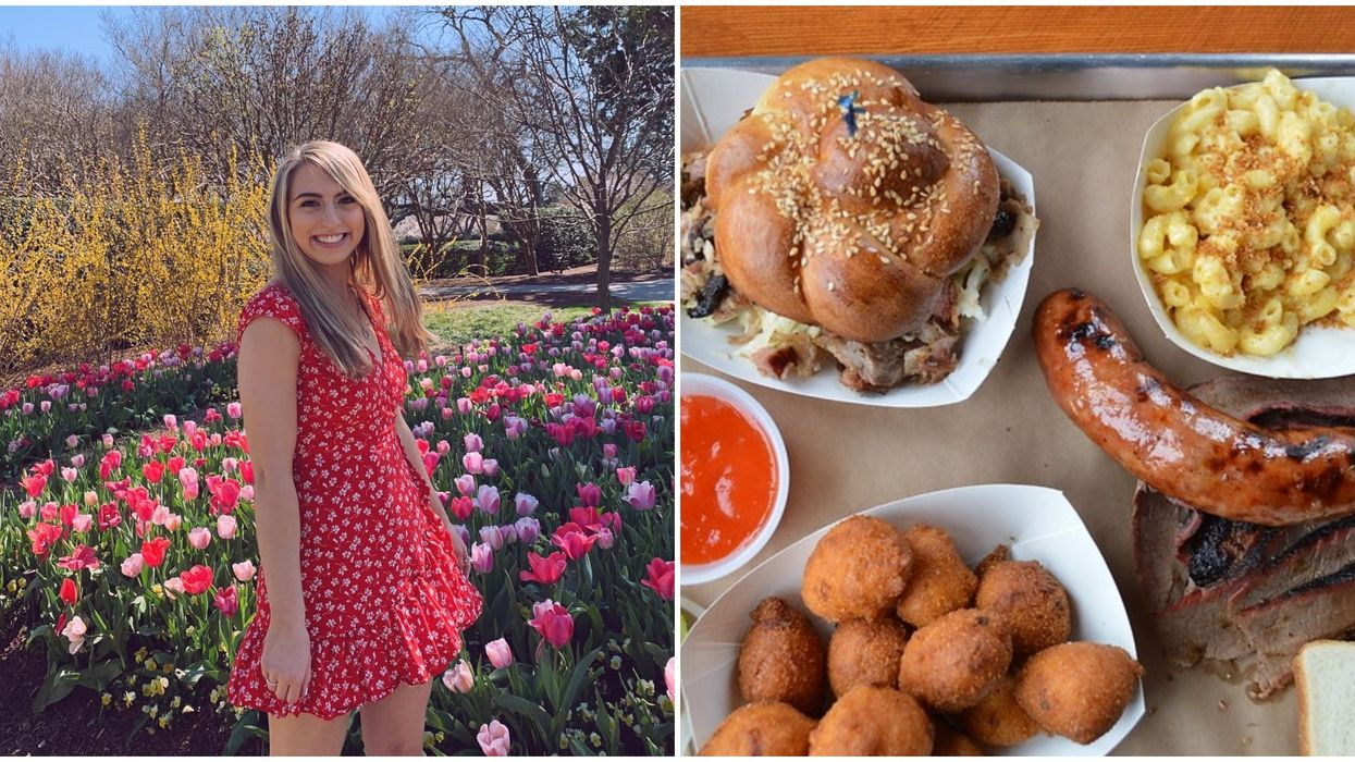 This Blooming Dallas Garden Is Hosting A Delicious BBQ Festival Next Month
