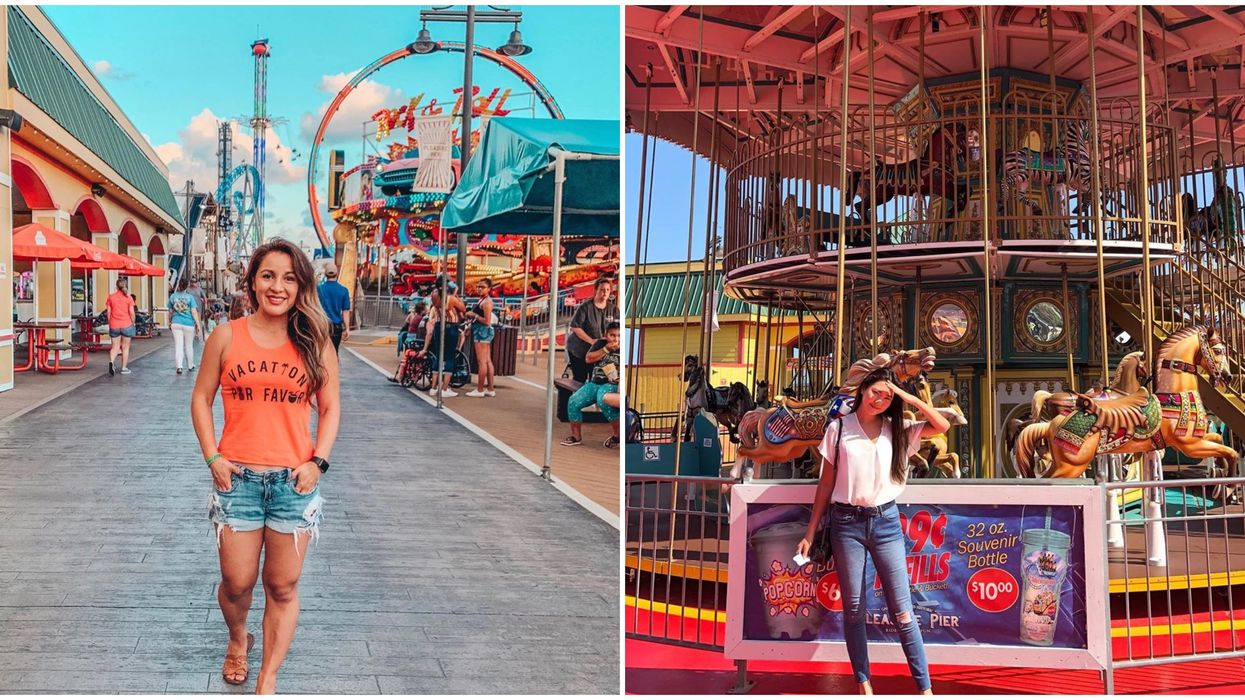 This Carnival Pier Near Houston Is The Most Unique Way To Spend The Day