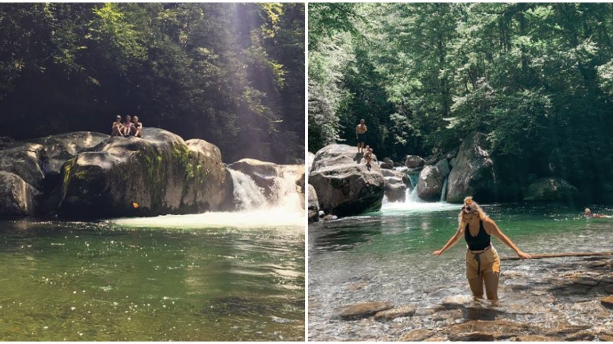 Hike In North Carolina Will Take You To An Emerald Pool
