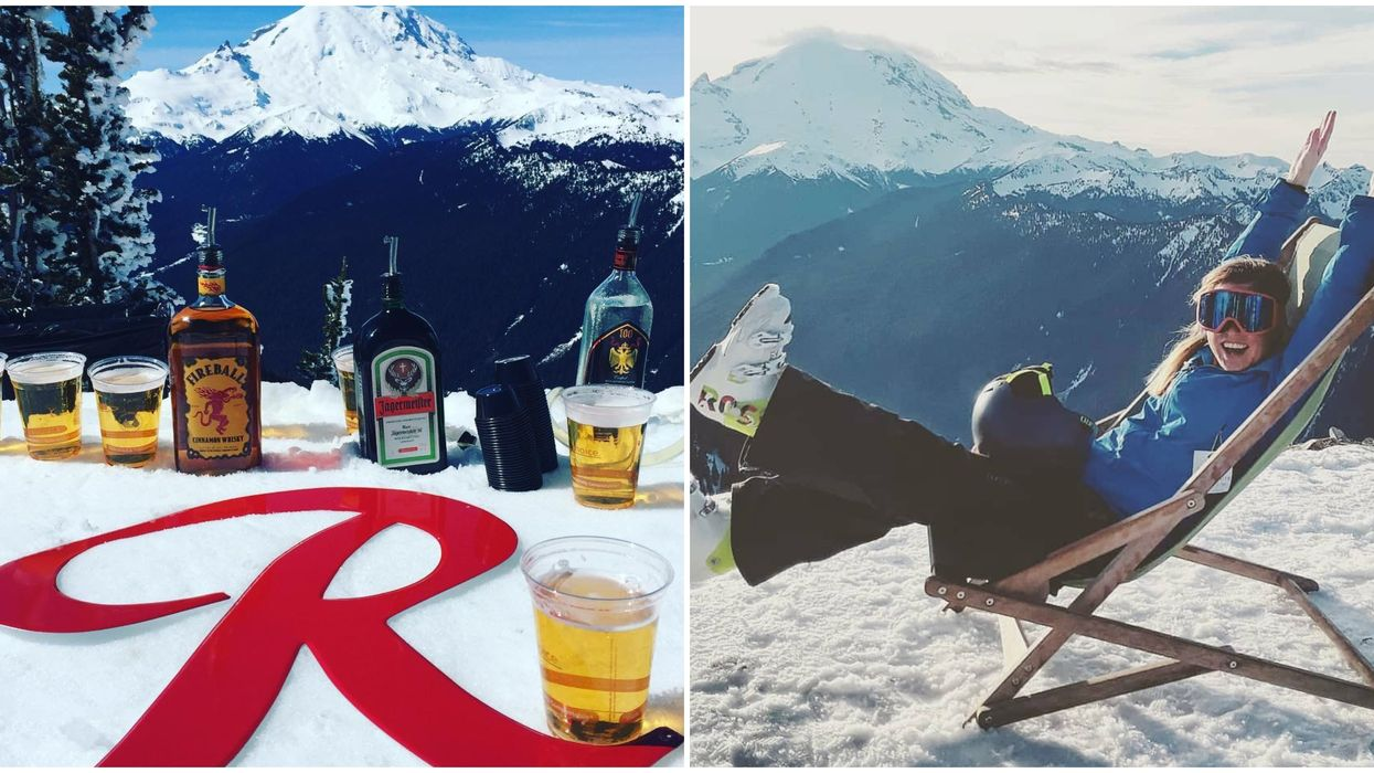This Unique Bar In Washington Is The Highest Spot You Can Eat & Drink At