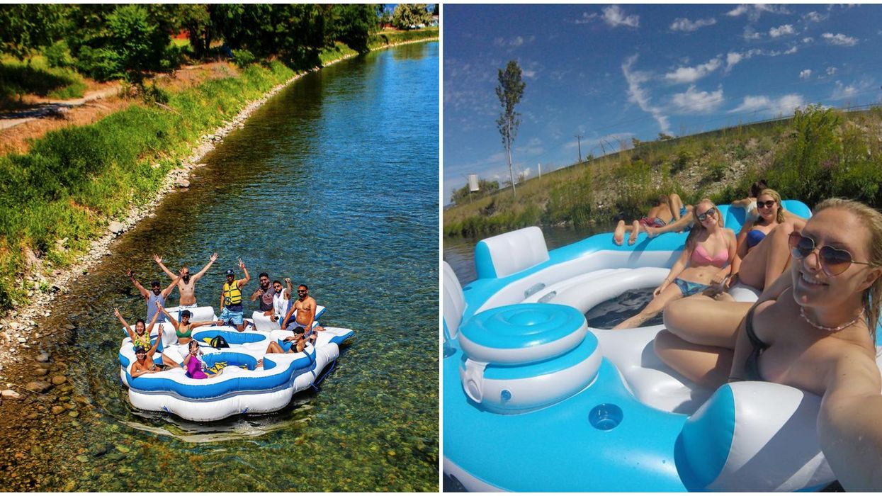 Penticton River Float Is A 7km Lazy River & It's The Ultimate Summer Adventure