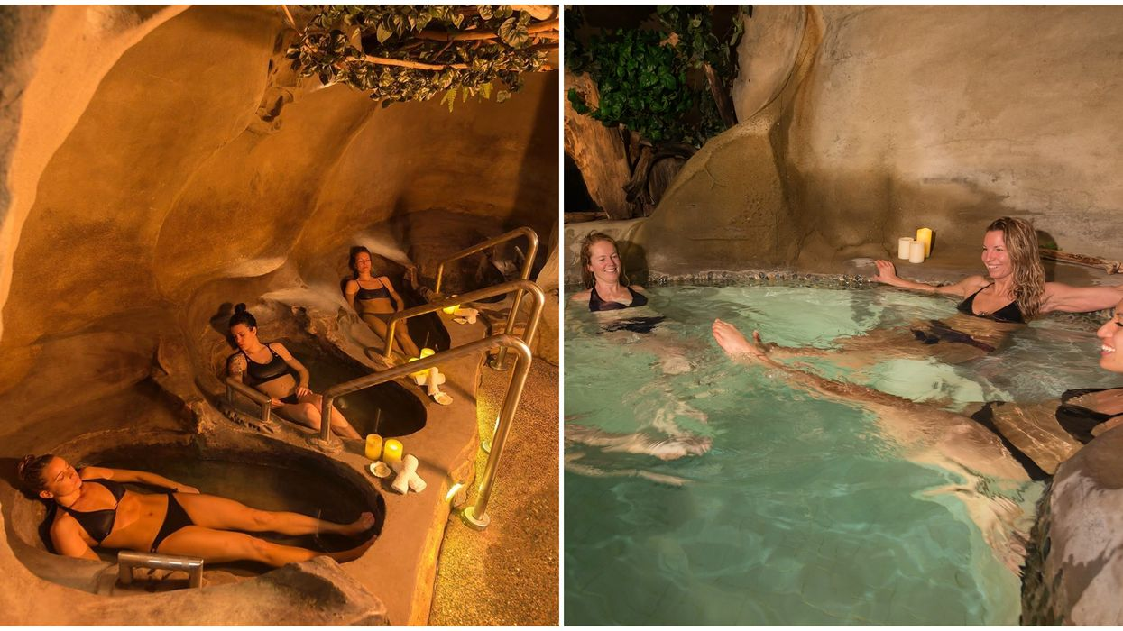 Oceanfront Spa In BC Has Hidden Pools Inside A Cave That You Need To Visit This Spring