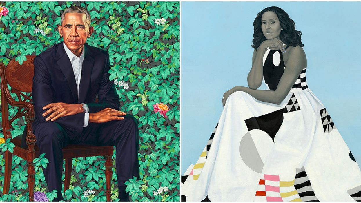 The Atlanta High Museum Of Art Exhibits Include Official Portraits Of The Obamas In 2022