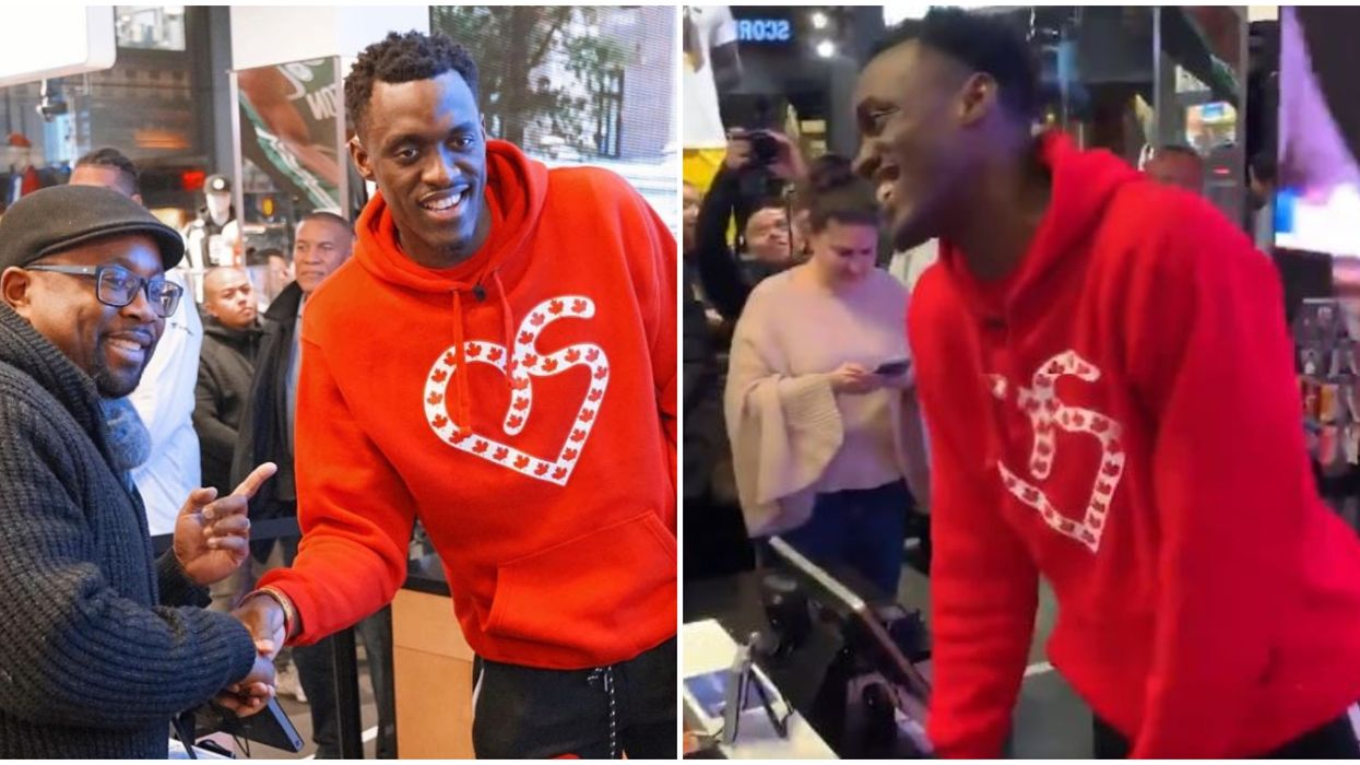 Pascal Siakam Worked As A Cashier While He Waited To Be Named An All-Star