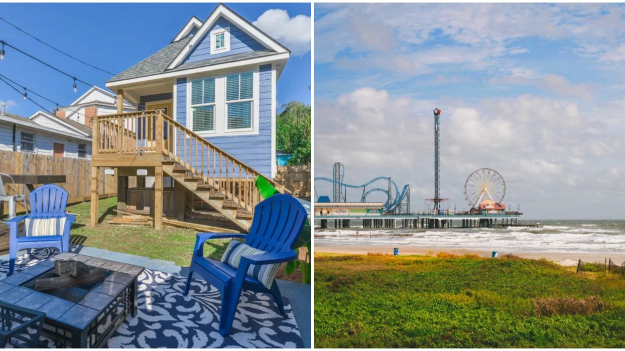 This Galveston Tiny House Is The Perfect Beach Getaway For Only $17