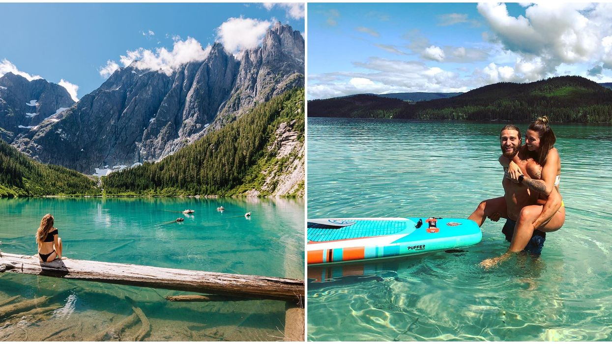 Turquoise Water In BC: 12 Places With The Most Amazing Clear Water