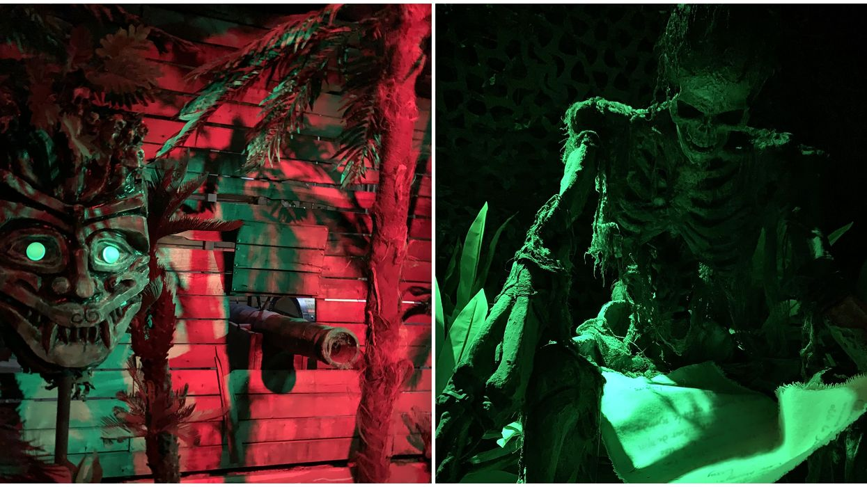 The Lost Island of the Voodoo Queen in Laval Is The Biggest Escape Room In Canada
