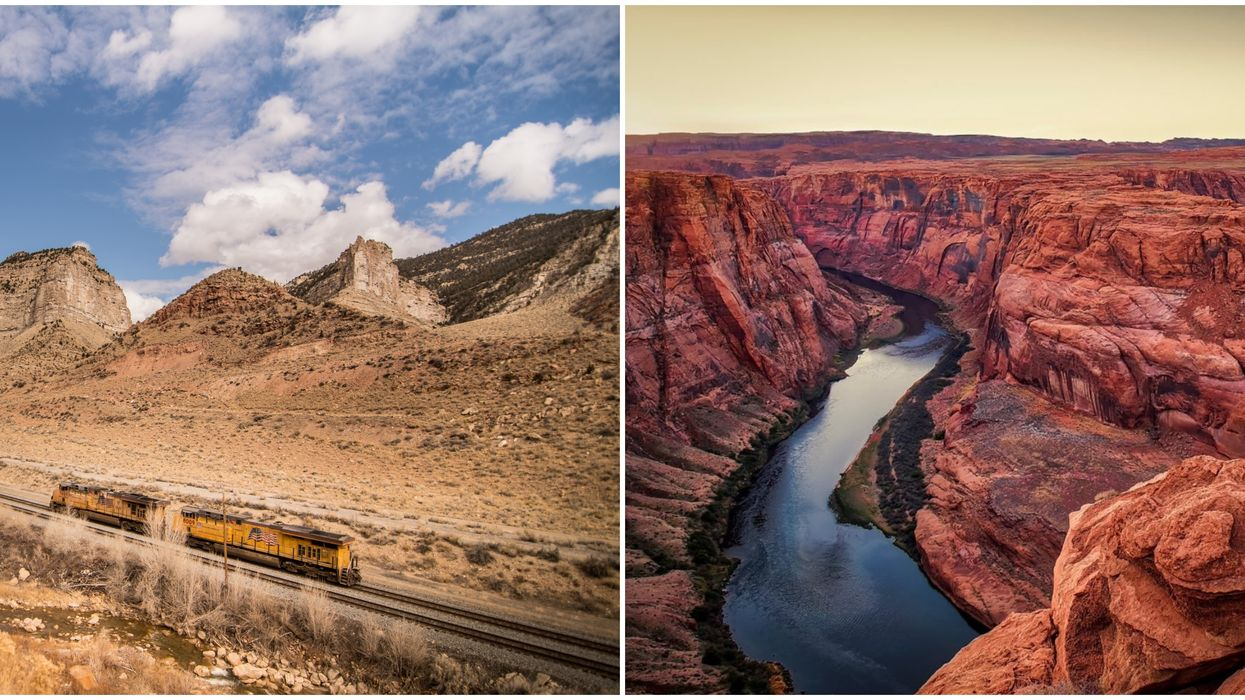 The Southwest Chief Train Takes You Through 5 States For Only $146