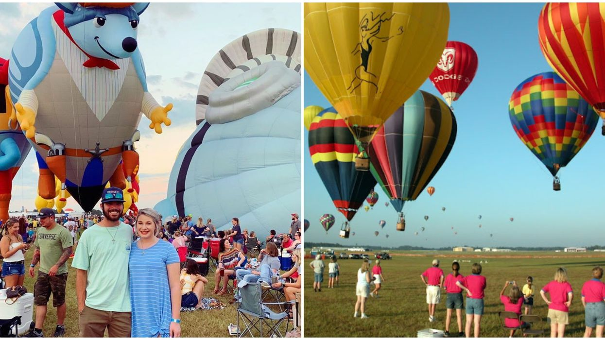 Texas's Massive Free Hot Air Balloon Race Is Back This Summer