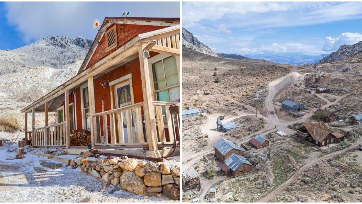 Spooky Ghost Towns In California Are For Sale & You Can Buy One For Cheap