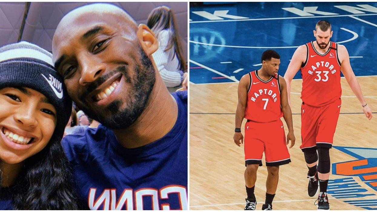 Raptors' Kobe Tribute During Last Night's Game Was Heartbreaking (VIDEO)
