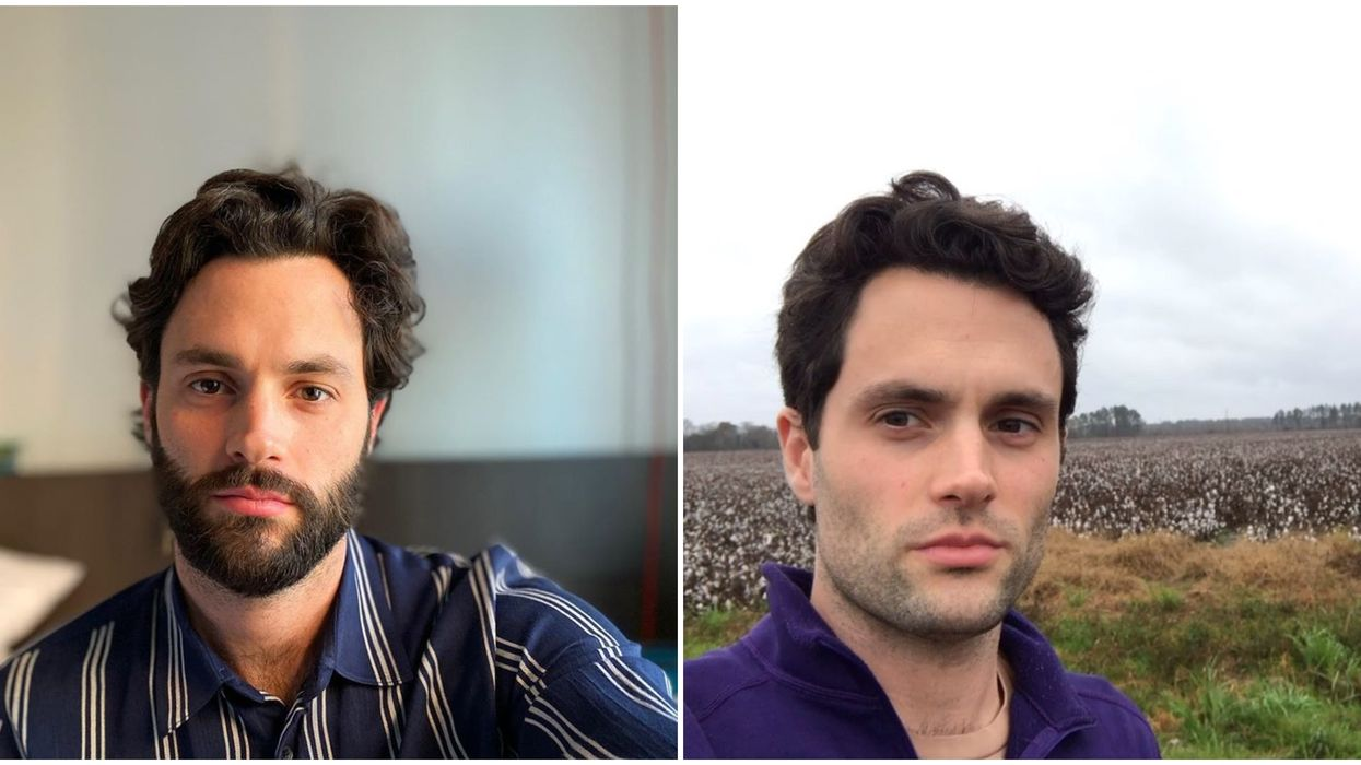 Penn Badgley Attended ASU In Arizona For An Event & We Missed It