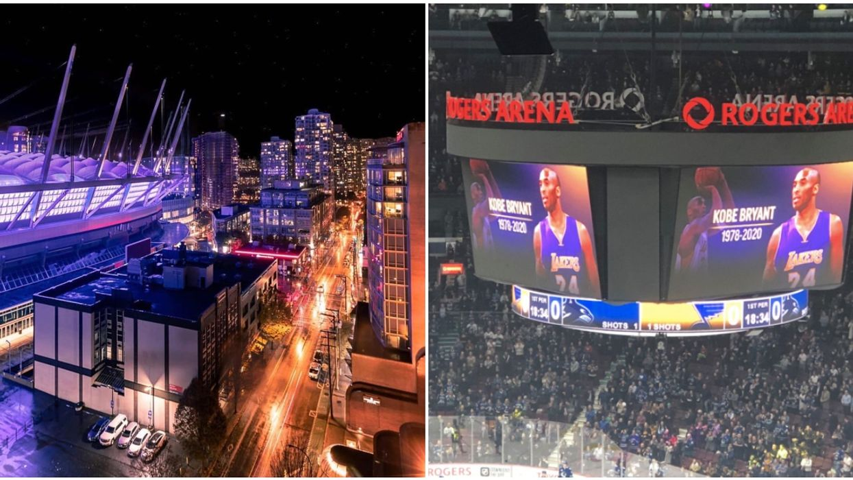 Vancouver Canucks Kobe Bryant Memorial Took Place Last Night & It Was Stunning (PHOTOS)