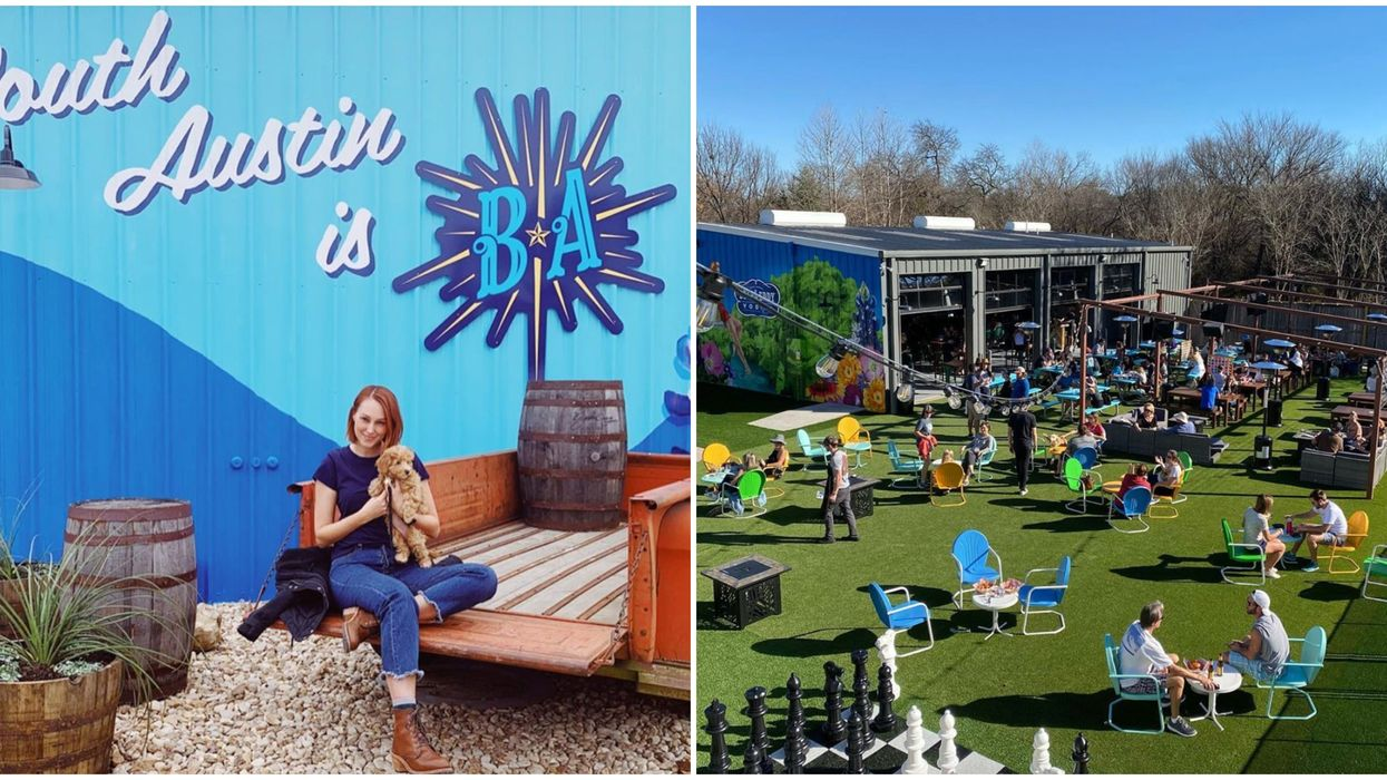 Austin's New Outdoor Restaurant With Sports Courts Opened This Month