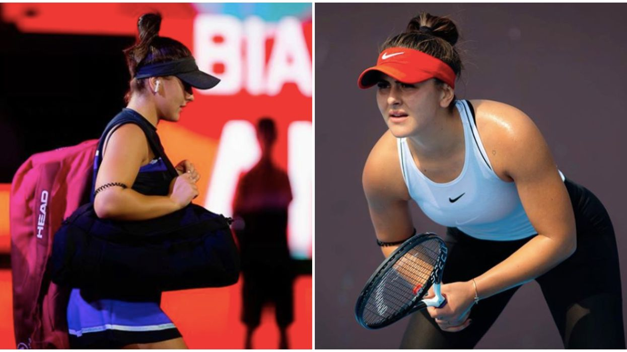 Bianca Andreescu's Return Is Set For Next Week As She's Named To Canada's Roster