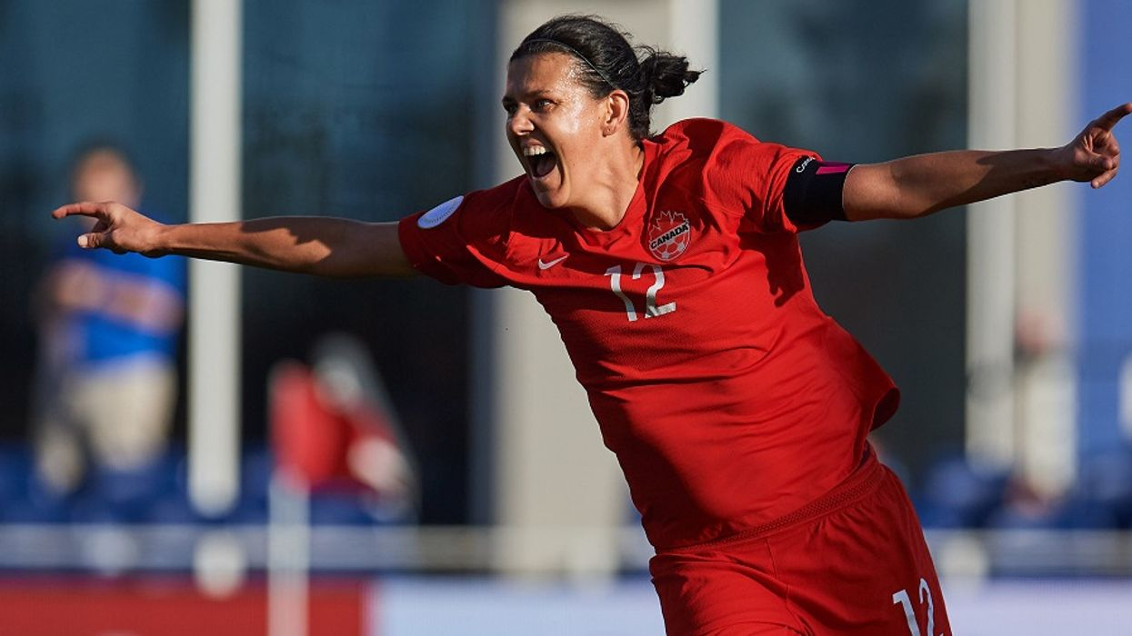 Christine Sinclair's Goals Break The Record For The Highest Scoring International Player Ever