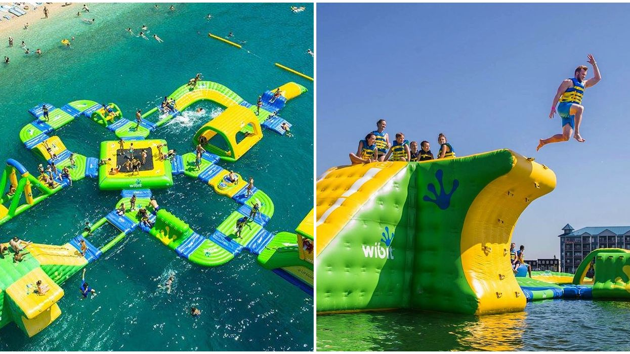 This Insane Floating Water Park In Alberta Has To Be On Your Summer Bucket List