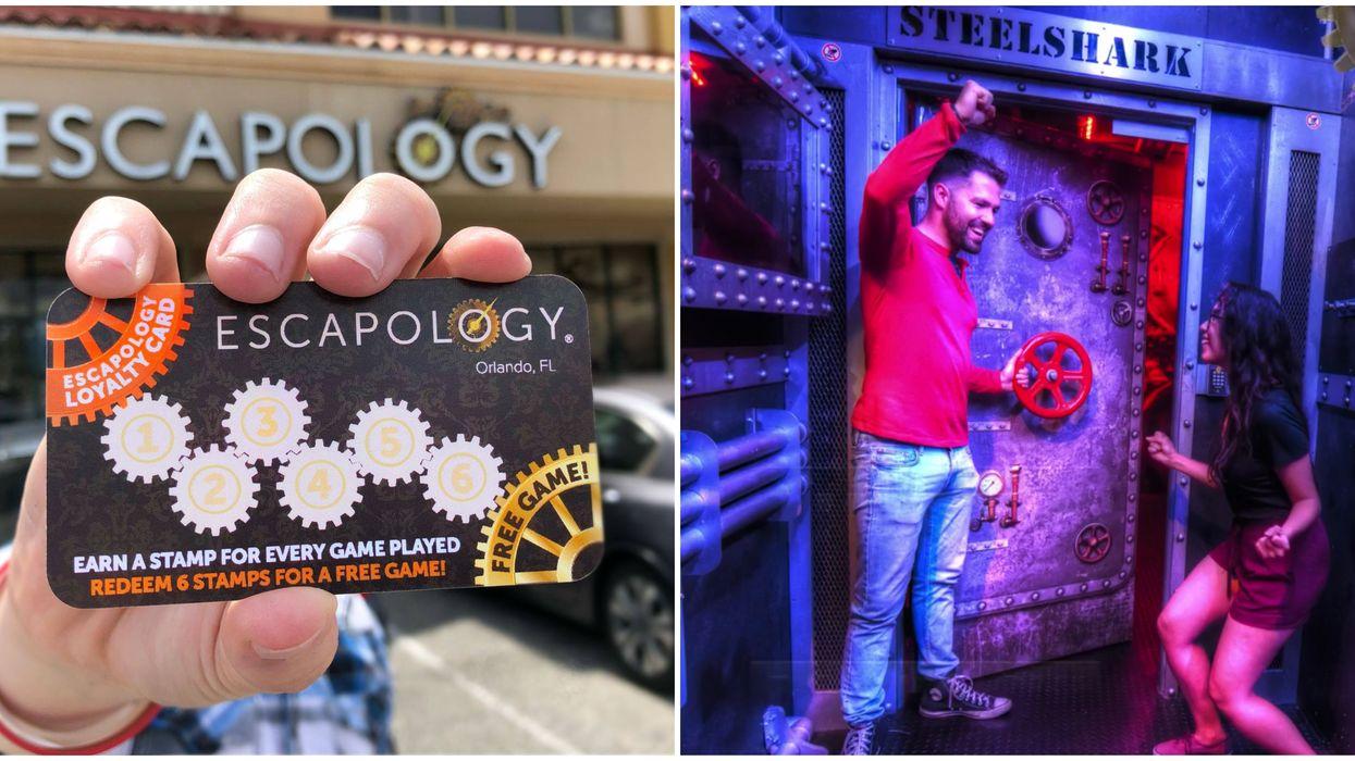 Escapology Orlando Groupon Lets You Get A Ticket For $21 Per Person