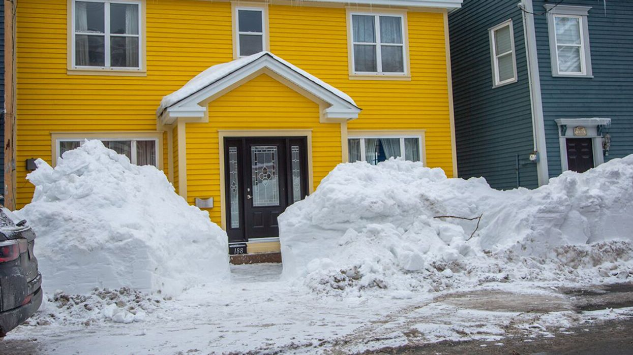 Newfoundland Has A Snow Warning Less Than A Week After The State Of Emergency Ended