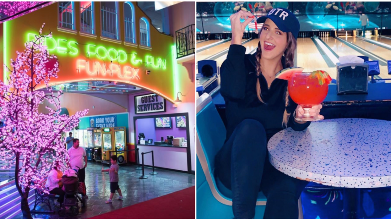 You Can Drink & Skate At This Boozy Houston Playground's Adult-Only Nights