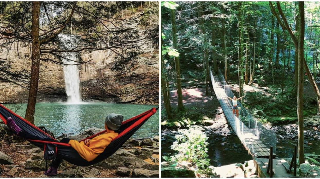 Trail In Tennessee Will Lead You To An 80-Foot Waterfall