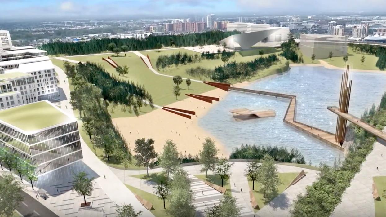 La Ville de Laval annonce la création d'un parc 4 fois plus gros que le Carrefour Laval