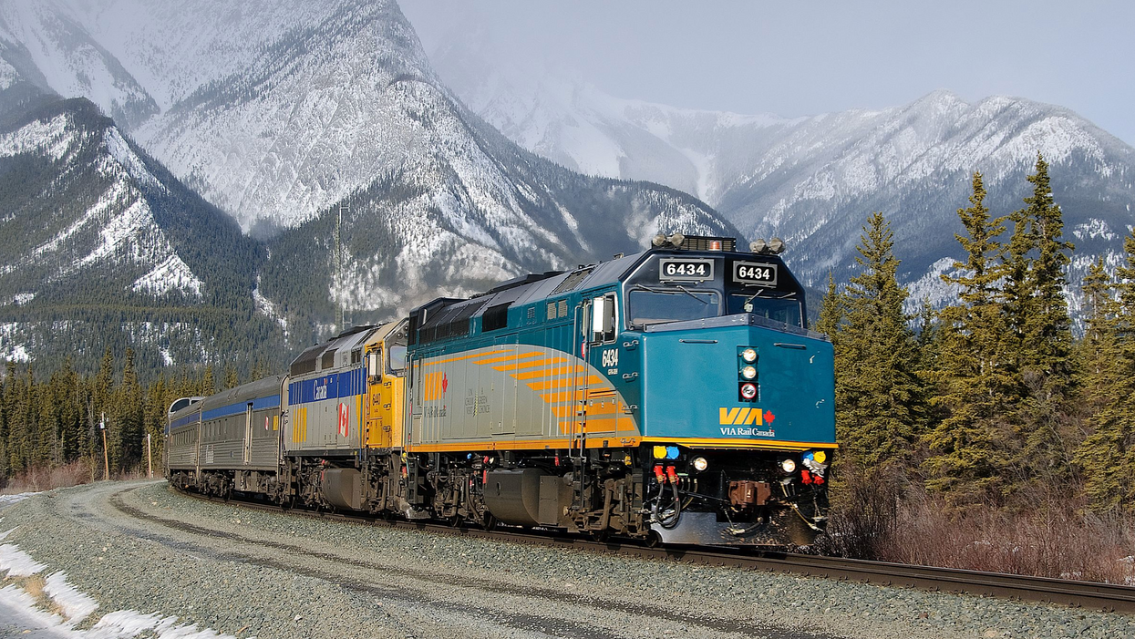 Via Rail Is Having A Deal On Valentine's Day Train Trips All Over Canada Right Now