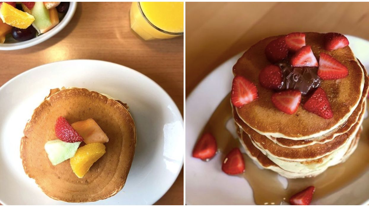 Sunset Grill's $1 Pancakes Will Be Available Across Ontario This Month