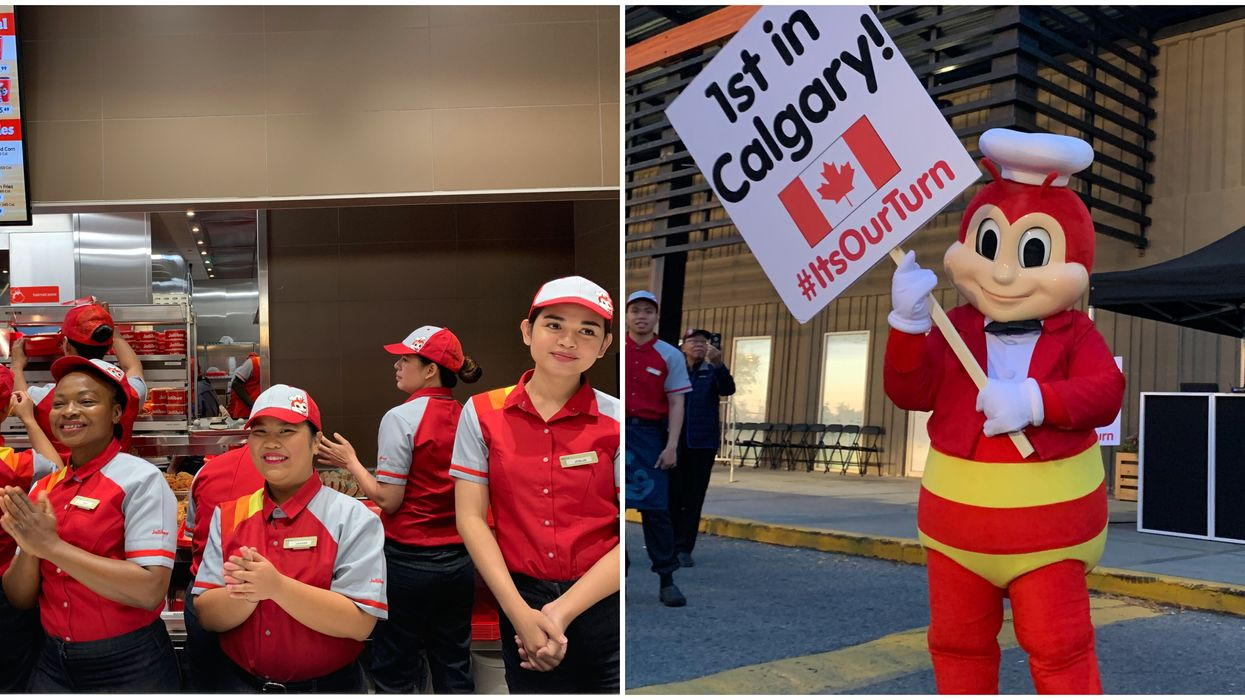 New Calgary Jollibee To Open On Macleod Trail & You Can Eat All The Jolly Chicken