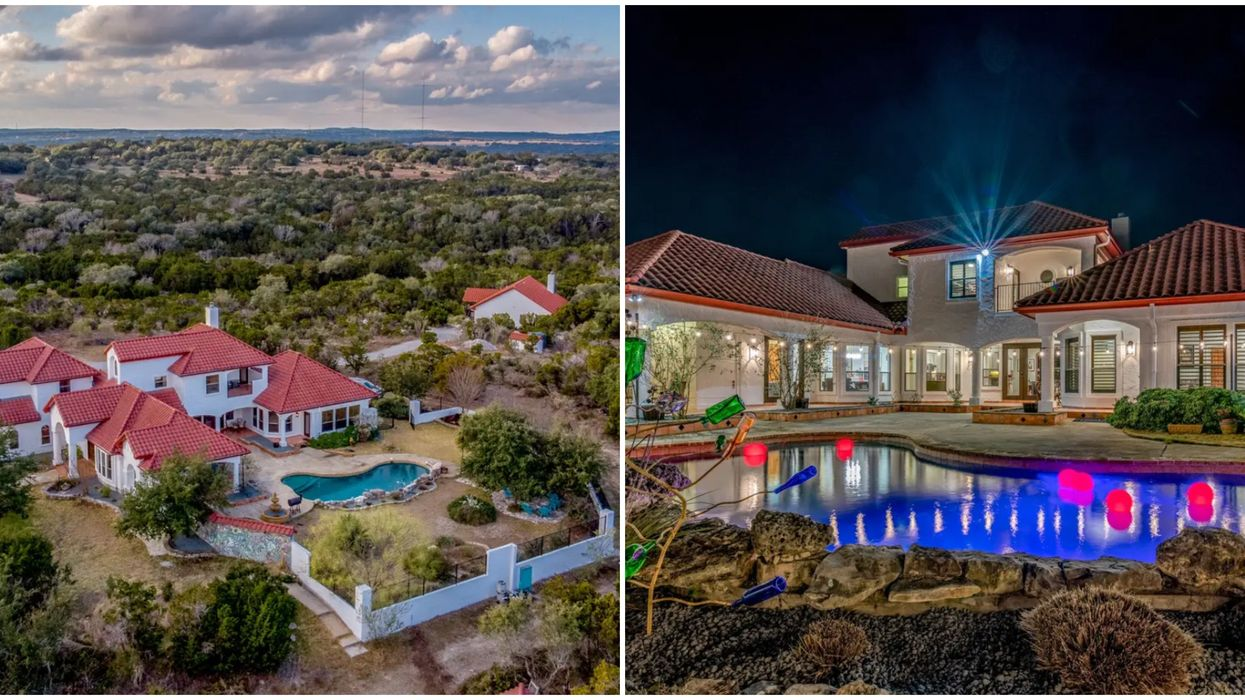 A Texas Hill Country Mansion Is Available To Rent And Cheap To Stay At