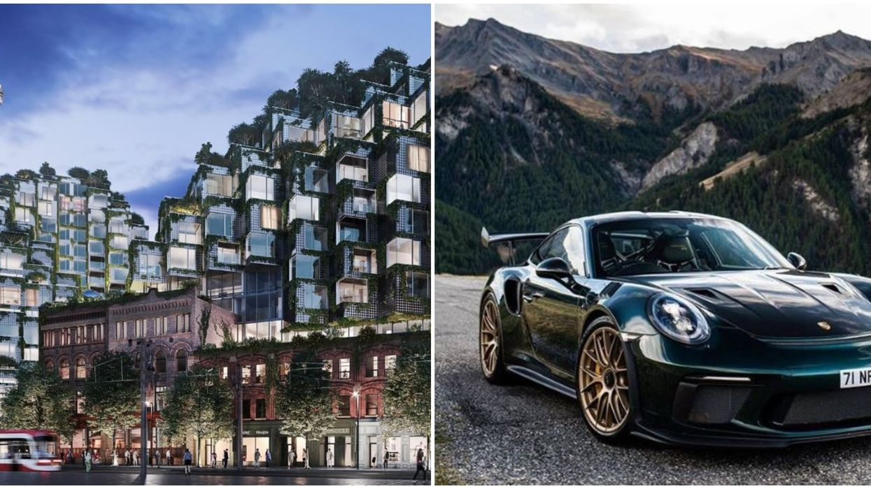 """Toronto Condo Sale Is Offering Actual Porsches And Rolex Watches As """"Gifts"""""""