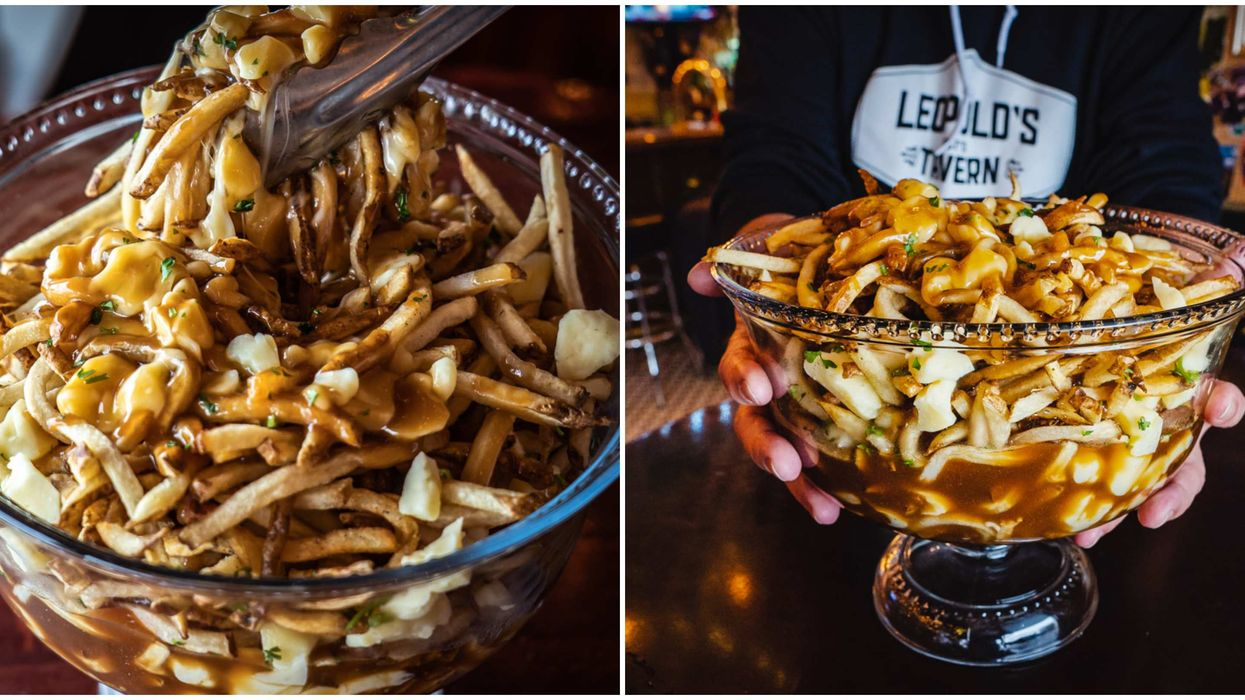 Poutine Punchbowls Weigh Over Five Pounds & They're Coming To BC This Spring