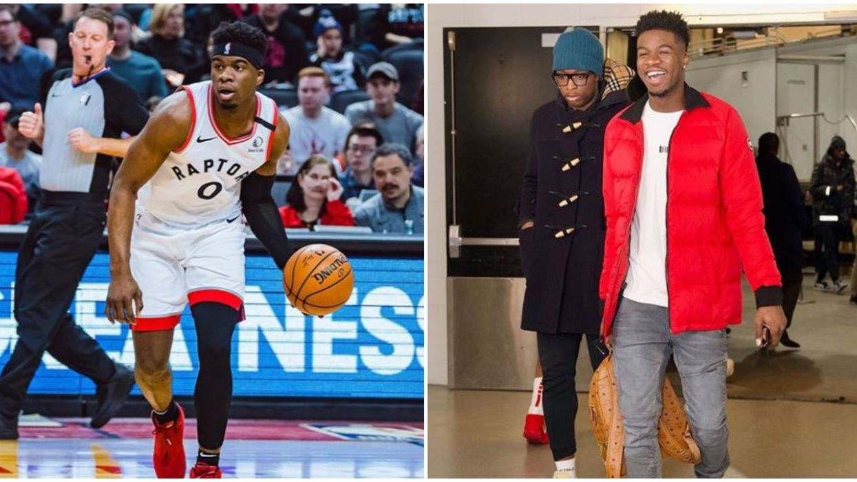 Terence Davis Trading Food With A Kid At A Raptors 905 Game Is The Purest Thing Ever