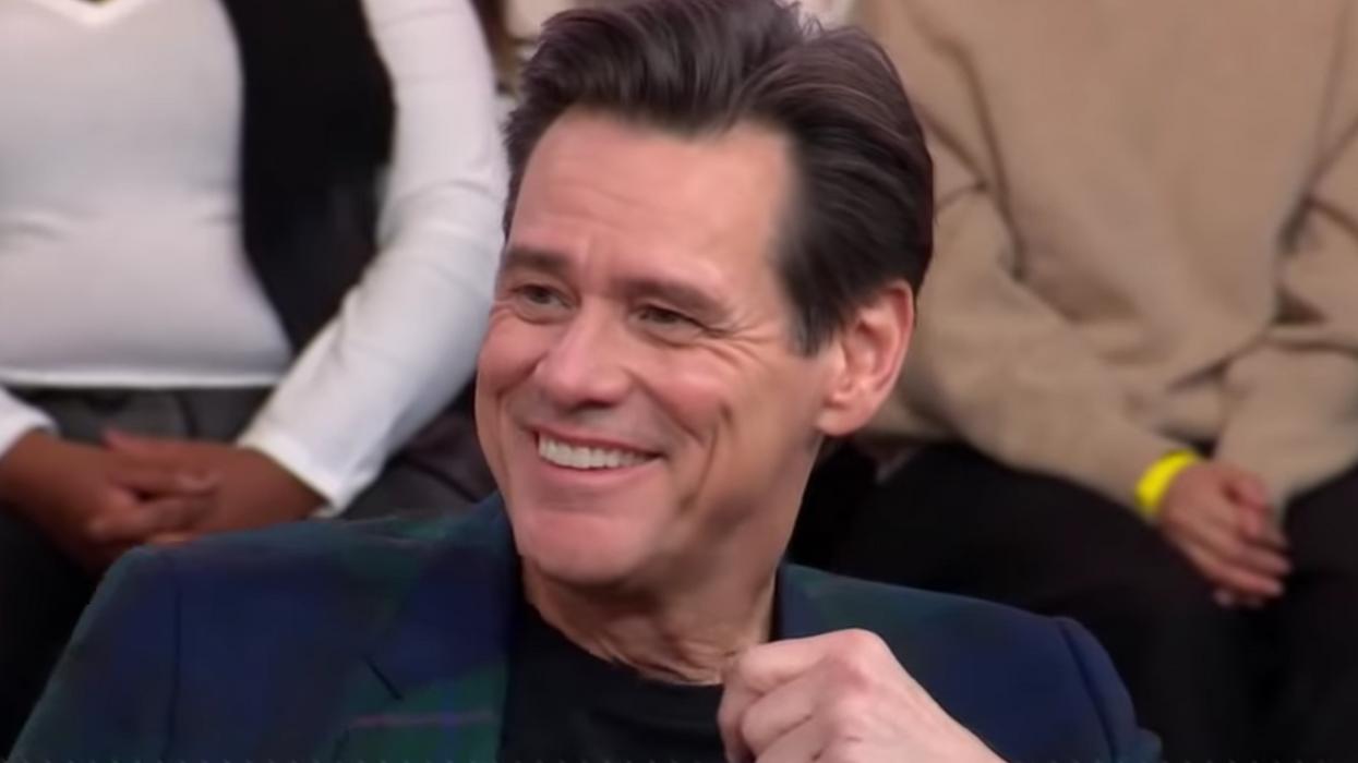 "Jim Carrey's ""Good Morning America"" Interview"