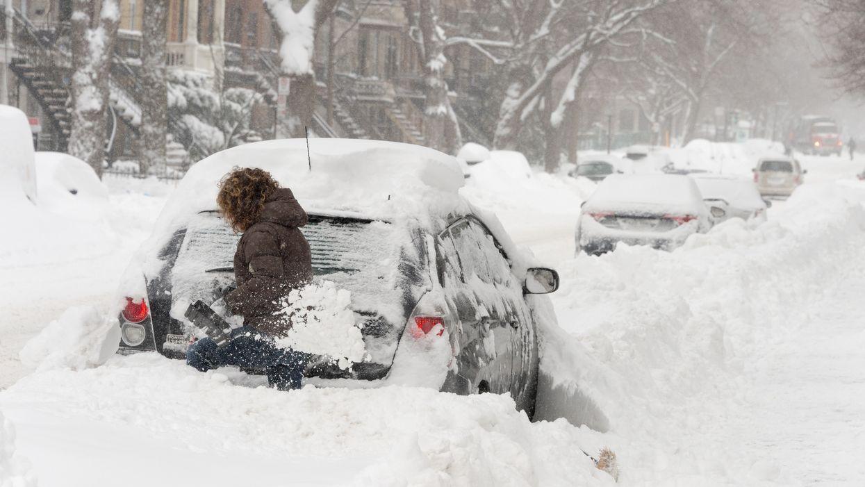 On annonce jusqu'à 35 cm de neige à Montréal et sur le sud du Québec d'ici samedi