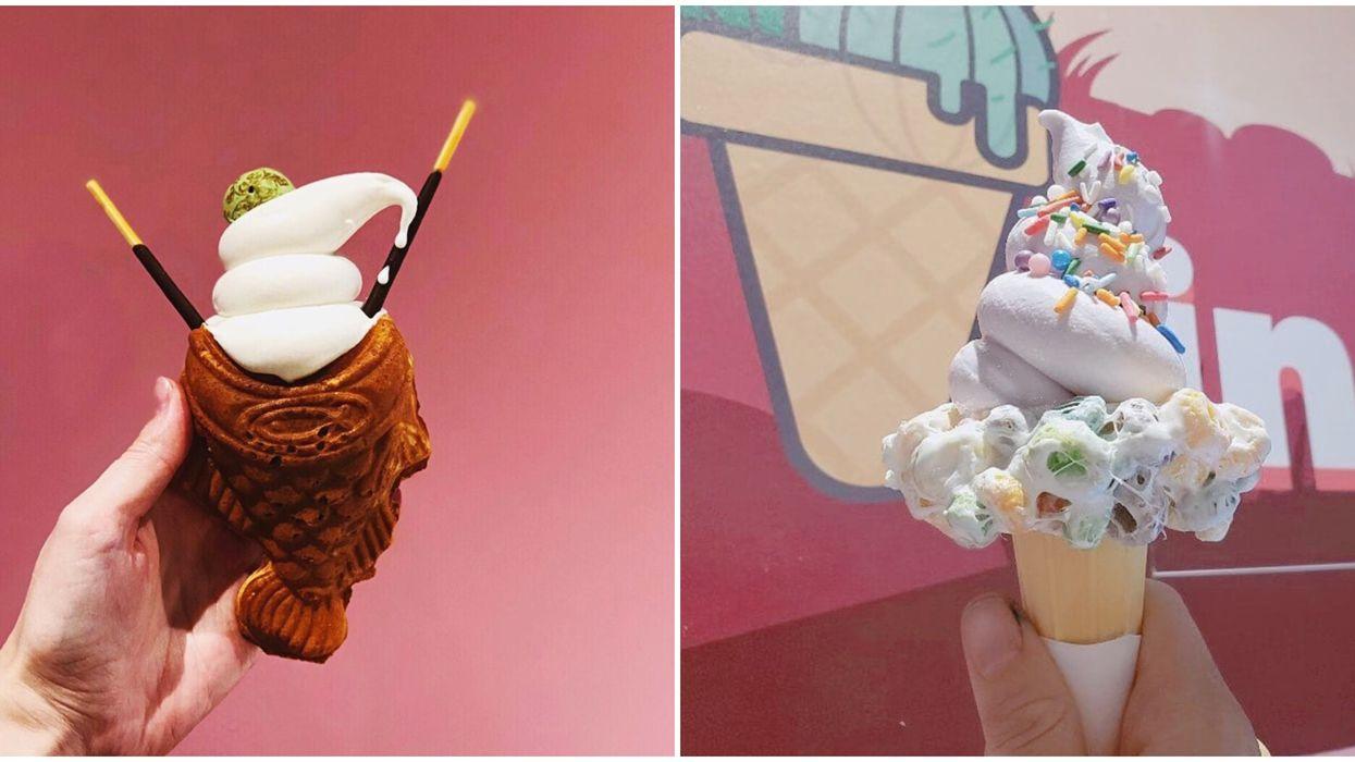 Ice Cream Shop Near Phoenix Sells Cones Shaped Like Fish
