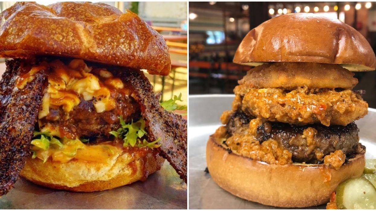 This Houston Burger Spot Has The Craziest Burgers