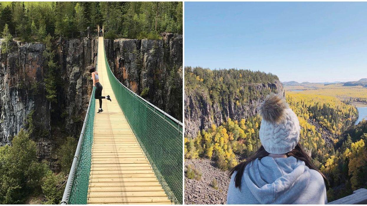 Ontario's Ouimet Canyon Hike Has Stunning Boardwalk Views