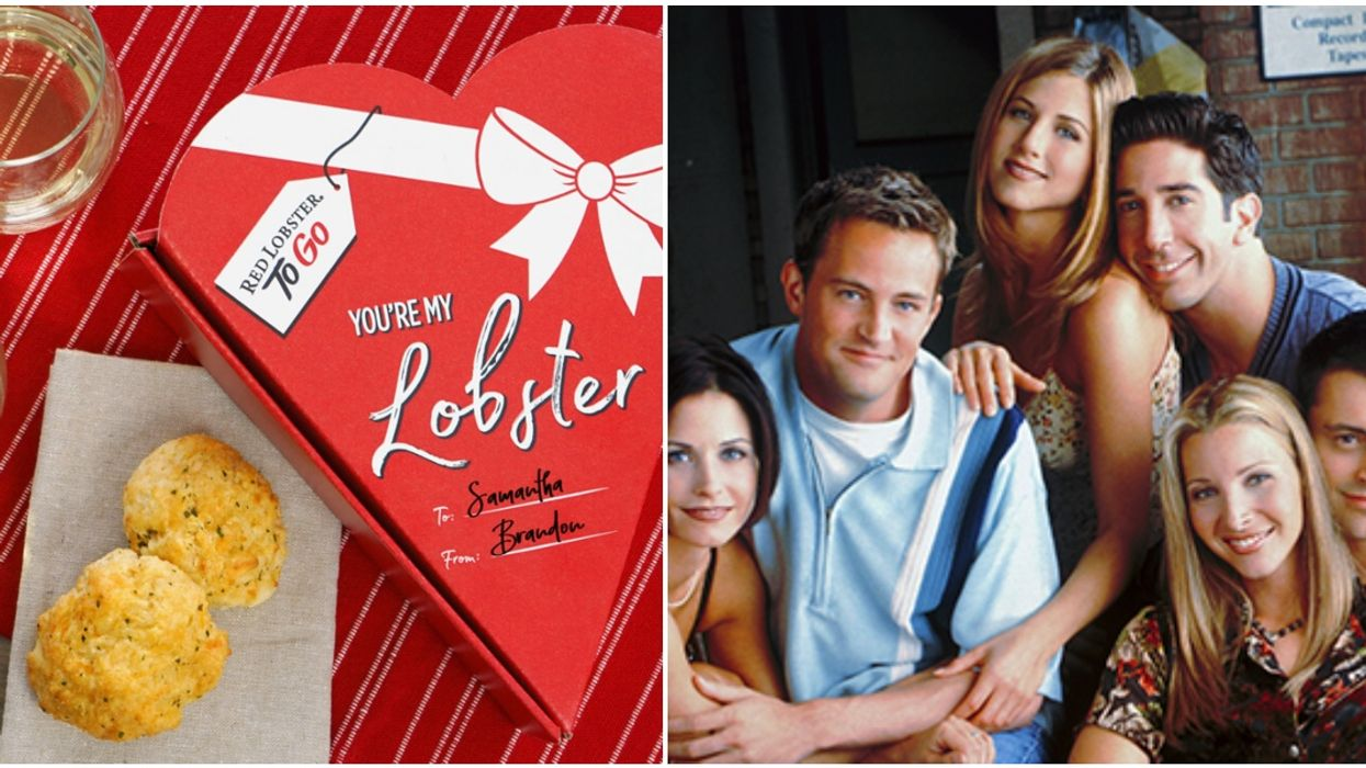 """Biscuit Box From Red Lobster With """"You're My Lobster"""" Quote Is All You Need This Valentine's Day"""