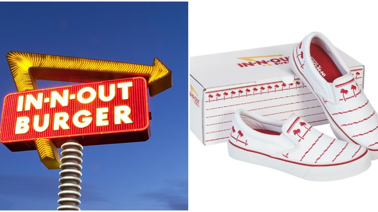 In-N-Out's New Drink Cup Shoes Are For Sale And You Can Buy Some Now