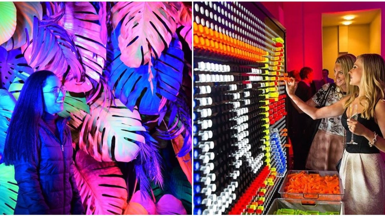 Illuminate Yaletown 2020 Is Bringing You Insane Drinks And A Life Sized Lite Brite