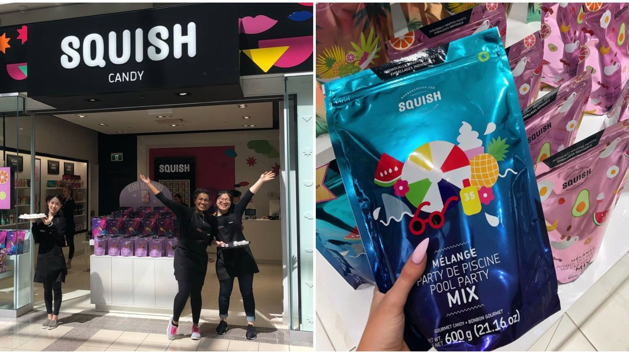 Squish Candy Canada Stores Are Giving Out Free Treats & Drinks This Weekend